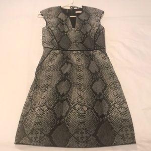 Snake print Rebecca Taylor size 2 dress